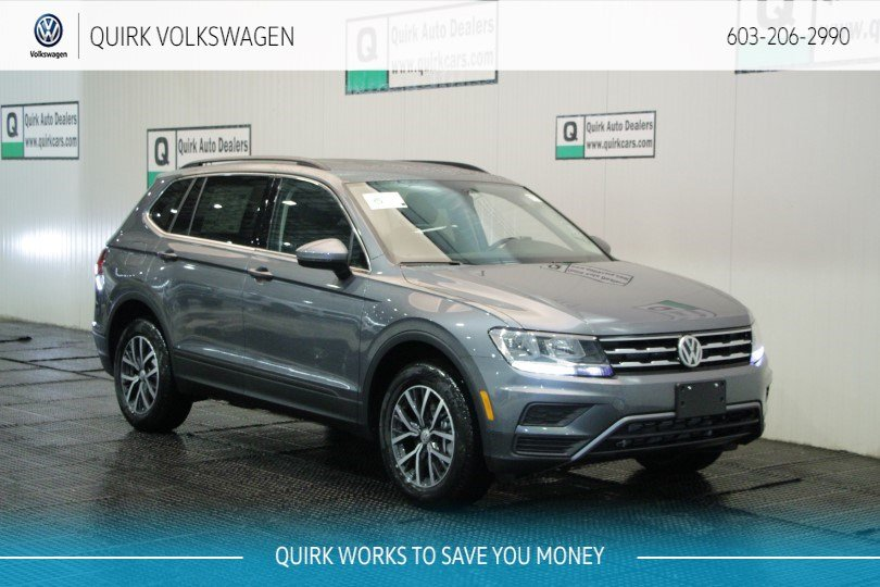New 2019 Volkswagen Tiguan SE/ 3rd Row Seat AWD