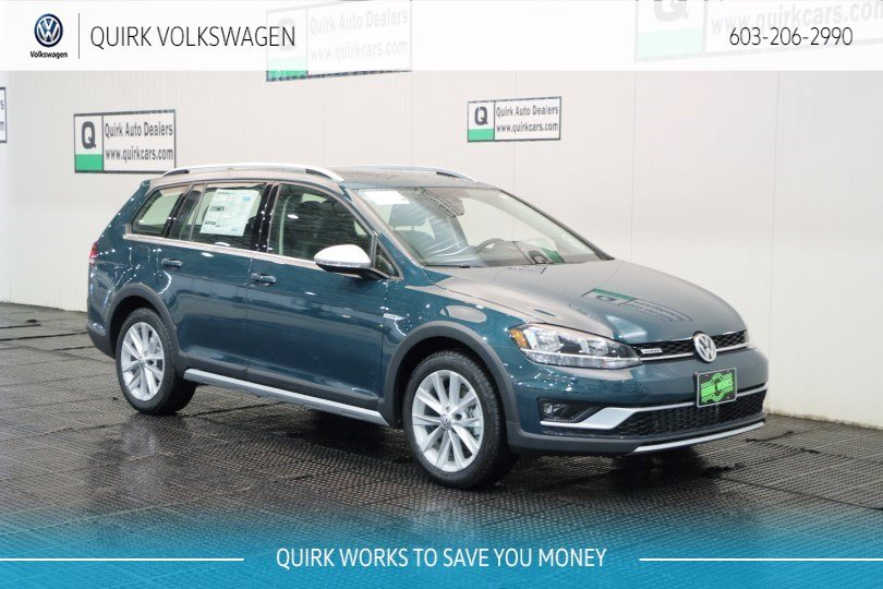 New 2019 Volkswagen Golf Alltrack SE / Manual