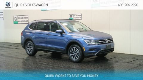 New 2019 Volkswagen Tiguan SE/Sunroof