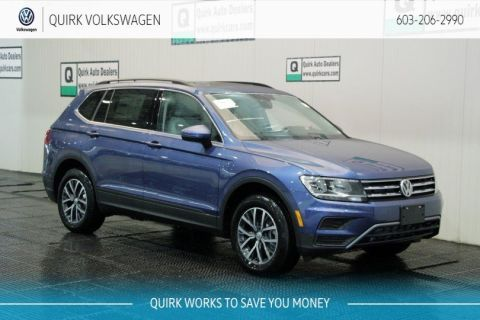 New 2019 Volkswagen Tiguan SE/Sunroof AWD