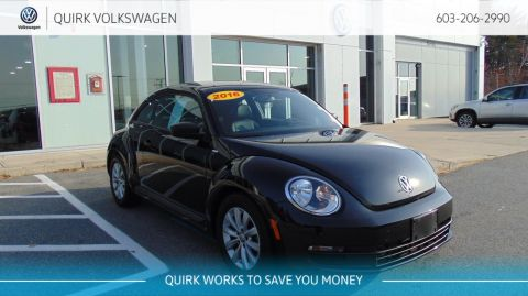 Pre-Owned 2016 Volkswagen Beetle Coupe 1.8T Wolfsburg Edition